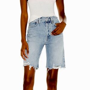 AGOLDE 90s Jeans Cut off Shorts In Fallout